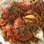 Garlic Stuffed Meatballs