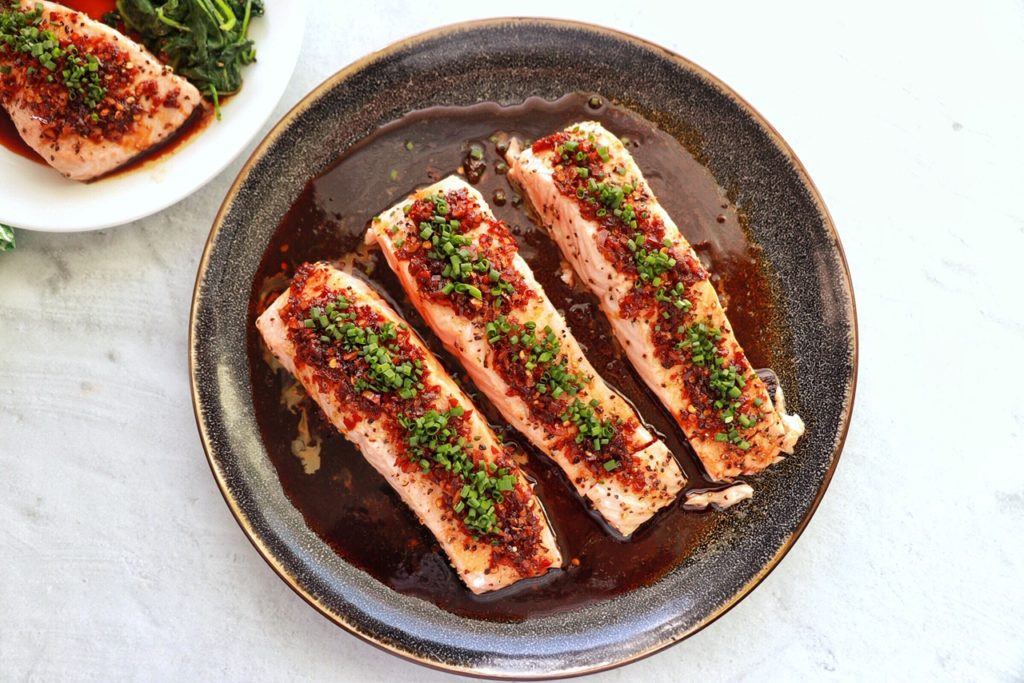 Ginger Garlic Salmon