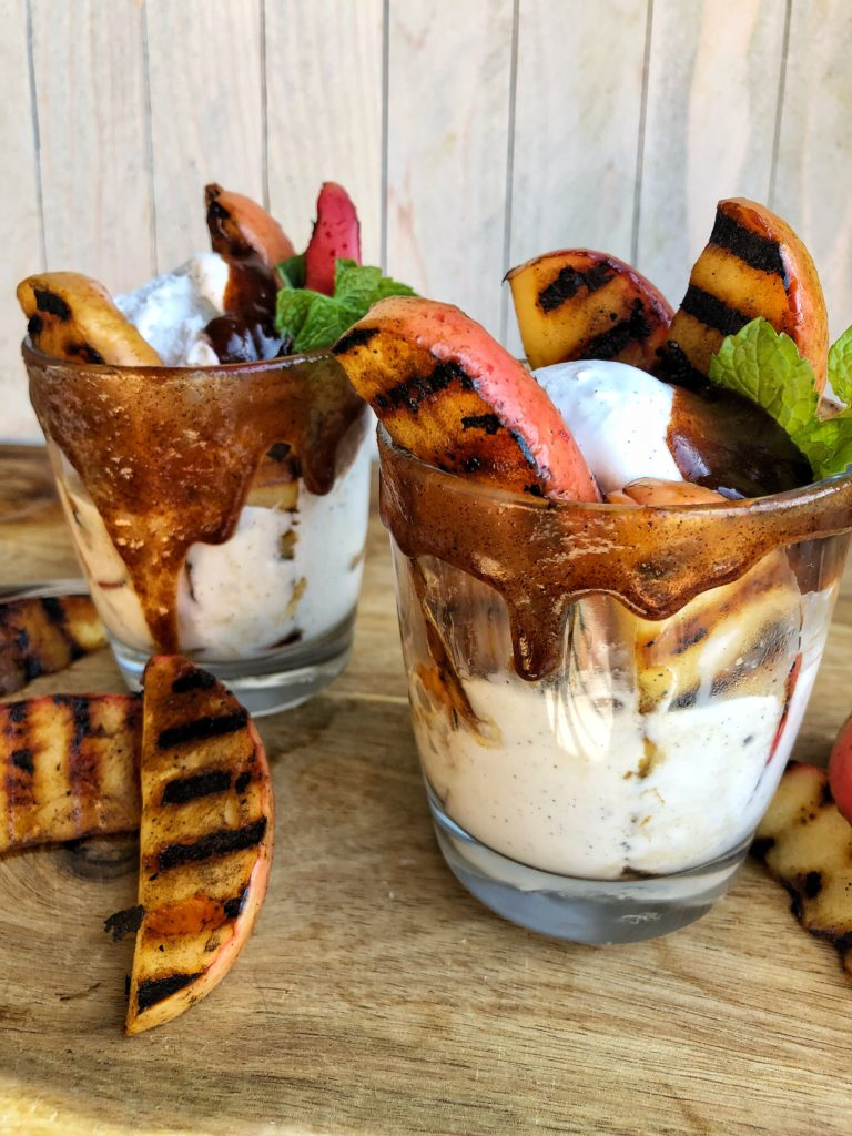 Grilled Apple Parfait