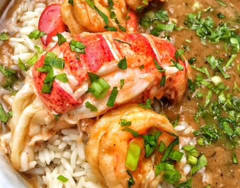 Lobster And Shrimp Etouffee Kenneth Temple