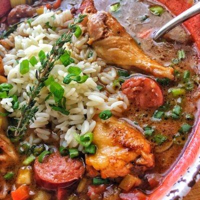 New Orleans Chicken & Sausage Gumbo