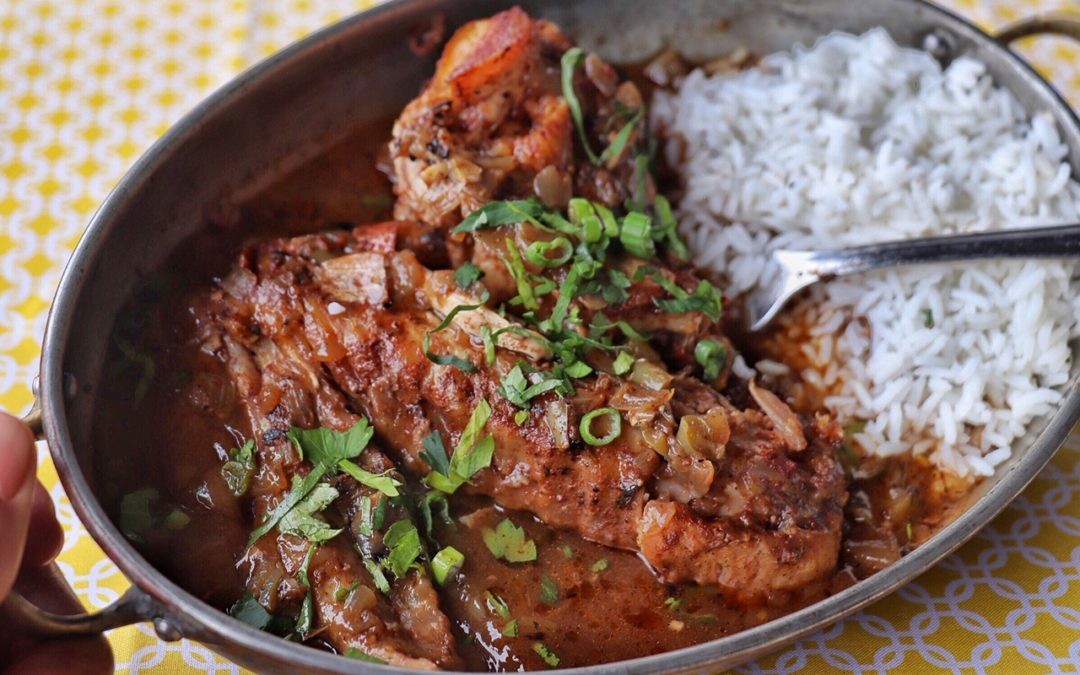 Smothered Turkey Wings