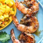 Citrus Agave Glazed Shrimp