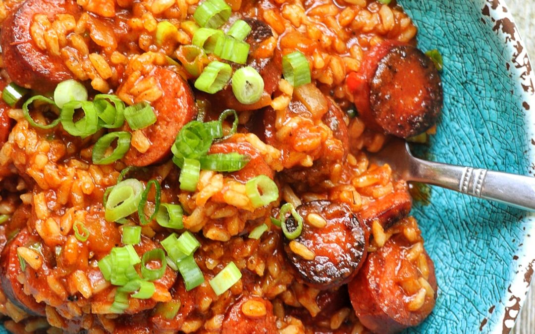 20 Minute Creole Jambalaya Recipe