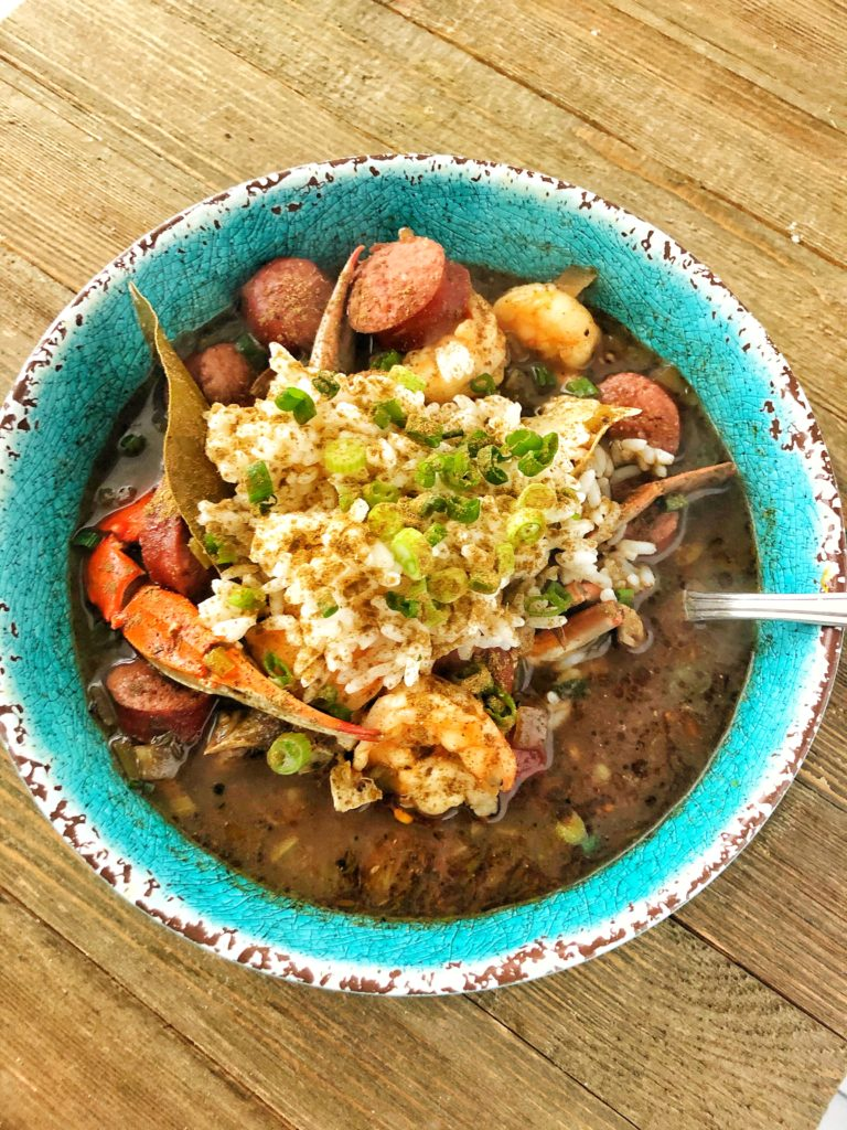 New Orleans Seafood File Gumbo
