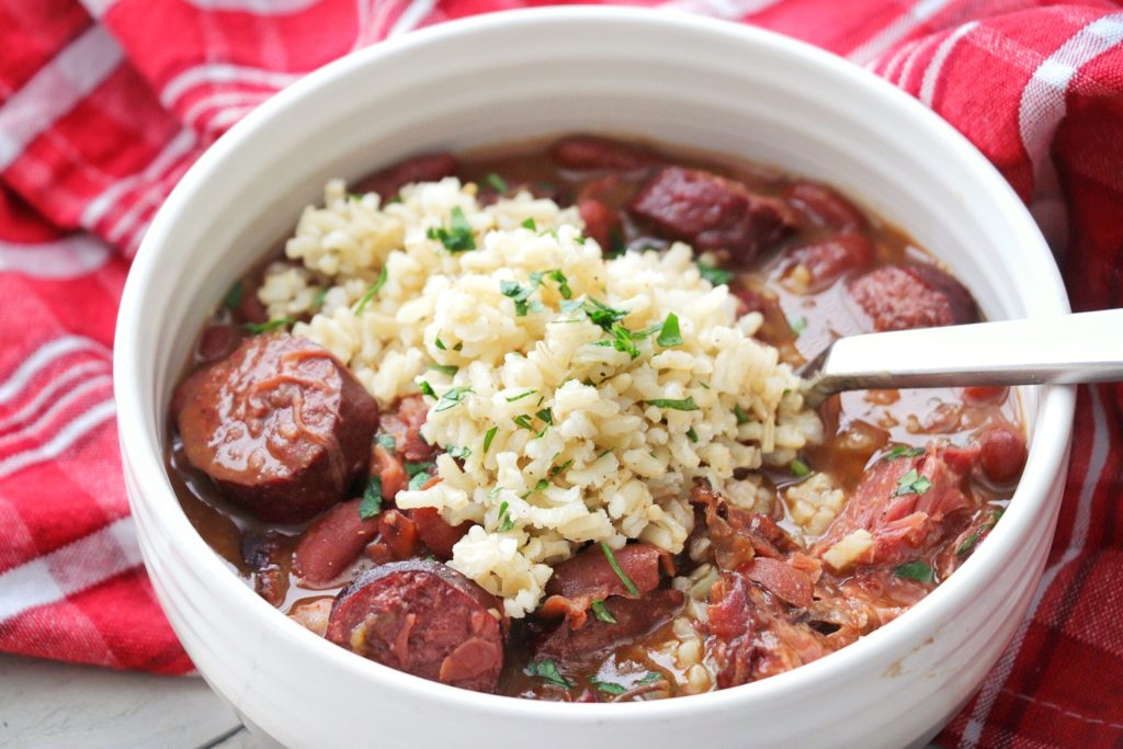 Instant Pot New Orleans Red Beans