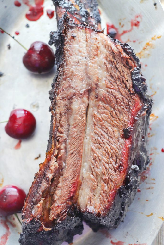 Beef Ribs with Black Cherry Cola Glaze