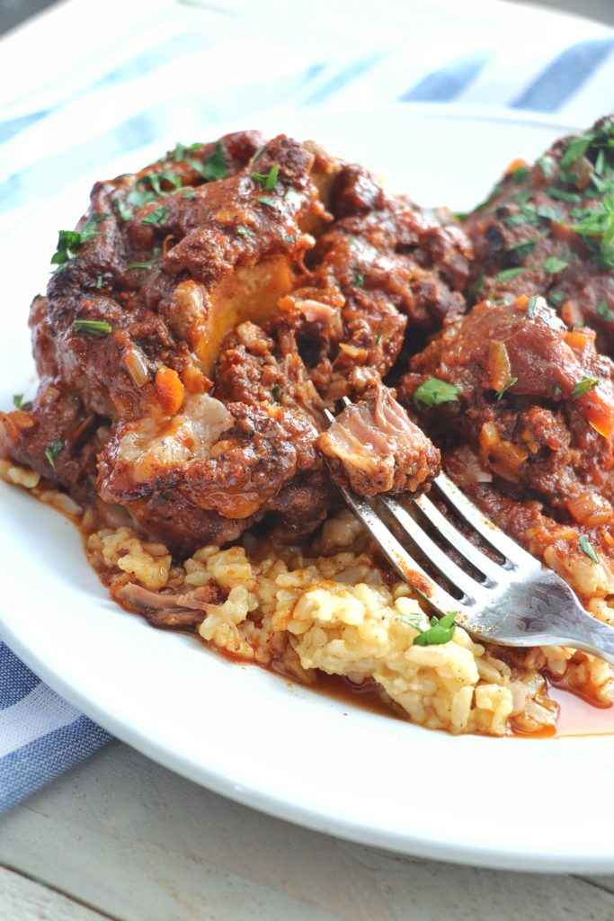 Creole Oxtail Stew