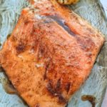 Lemon Pepper Glazed Salmon