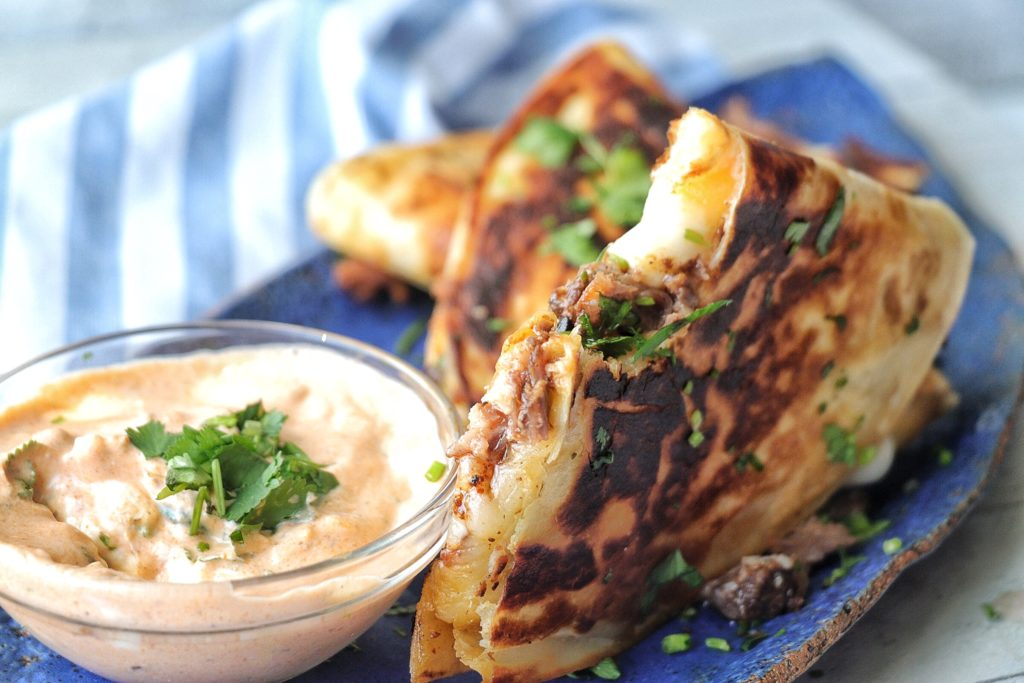 Oxtail Quesadillas