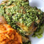 Roasted Pesto and Hens